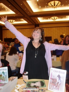 Cindy Holby, author of FALLEN