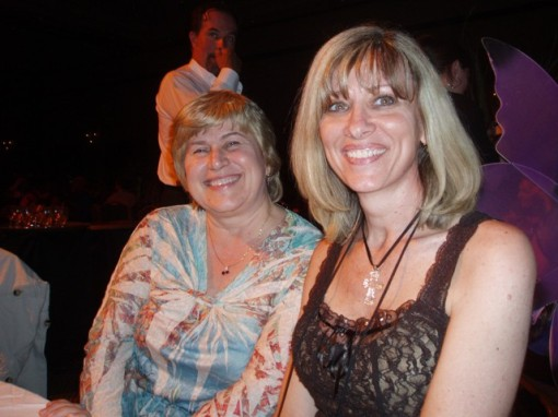 Donna MacMeans and TEXAS HOLD HIM author Lisa Cooke