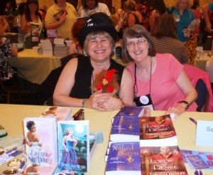 Donna MacMeans and Sally MacKenzie.  They're not Dorch authors, but we still love them.
