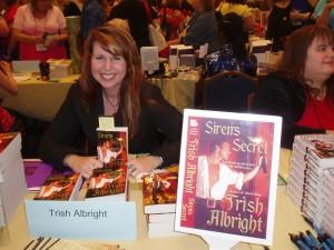 Trish Albright, author of SIREN'S SECRET
