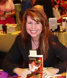 a. Trish Albright, author of SIREN'S SECRET